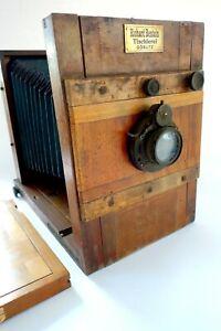 Reisekamera 13x18, Nußbaumholz, zum Restaurieren