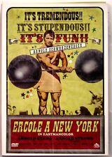 Dvd Ercole a New York con Arnold Schwarzenegger 1969 Usato