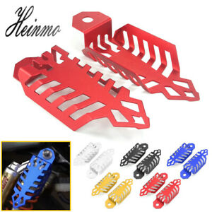 Universal Aluminium Fork Dust Shock Absorber Spring Covers For Motorcycle ATV