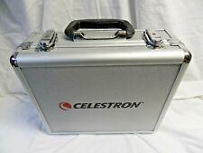 9 Celestron Multi-Coated Lens & 7 Filters Lockin Case Kit With Key & Padding