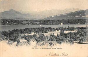 The Mont-Blanc Seen Geneva
