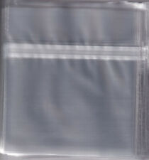 RESEALABLE OUTER PLASTIC SLEEVE BAG CD JEWEL CASE - HIGH QUALITY