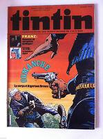 "b)TINTIN du 1/06/1982  N°22; Tetfol ""La lumière noire"""