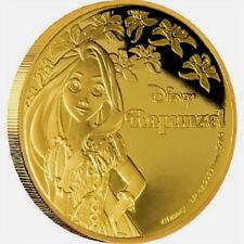 2016 Disney 1/4 oz Gold Coin  Rapunzel