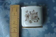 Oval Small Vase Eschenbach Bavaria Gilded