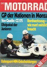 M7120 + Test CZ 175 + Kutzeers Matchless G 45 + Das MOTORRAD 20/1971