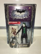 The Dark Knight Joker with Crime Scene Evidence Action Figure Mattel New NIP