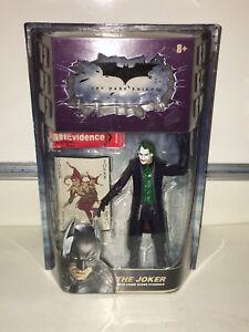 The Dark Knight Joker with Crime Scene Evidence Action Figure Mattel New NIP