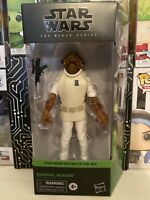 "Star Wars The Black Series 2020 #01 Admiral Ackbar 6"" Figure IN HAND New Box"