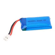 1 Accu Batterie Li-po 3.7V 25C 380Mah 652036XL Lipo Battery Avec Connecteur