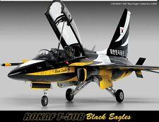 Academy 1/48 ROKAF T-50B 'Black Eagles' Cartograf Decal 12242 NIB