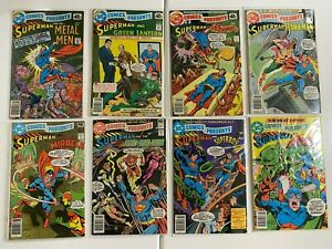 DC Comics Presents lot 16 different from #4-30 4.0 VG (1978-81)