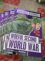 Horrible histories woeful second world war by Terry deary