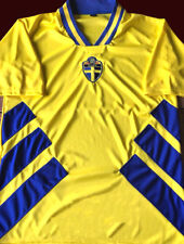 17b10884f SWEDEN - FIFA WORLD CUP USA 1994 - Vintage JERSEY Replica