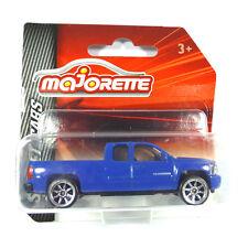 Majorette 212052791 Chevrolet Silverado Blue - Street Cars 1:64 3 Inch NEW !°