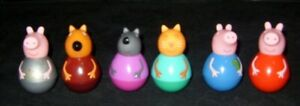 PEPPA PIG WEEBLES COLLECTION 3 INCHES TALL