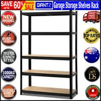 1.5Mx1.8M Garage Warehouse Metal Steel Storage Shelves Racking Racks Shelving