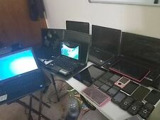 Lot of 28 Cell Phones, 1 Ipod, 4 Tablets, 9 Laptops, 1 Netbook. For Parts/Repair