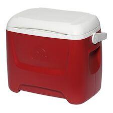 Eisbox – Kühlbox 26 Liter, Original Igloo   ISLAND BREEZE 28   Rot/weiß
