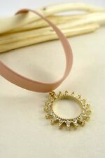 Women Jewelry Fashion Retro Choker Necklace Chain Pink Casual Sun Vintage Style
