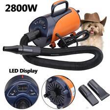 animaux Toilettage Sèche cheveux 2800W LED affichage pour chat chien EU PLUG