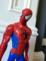 "Spiderman Figure 2013 Marvel & Subs Hasbro Approx 11.5"" - 28cm Tall"
