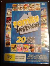 FAMILY FESTIVAL 20 Great Family Movies 4 New Unsealed DVDs R All