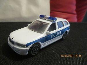 JOY CITY 1/43 BMW 3er TOURING Police Car No packaging 10cm long