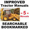 Case 580 Super K 580SK Service Manual, Operators & Parts Manual -5- MANUALS CD
