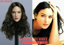 1/6 Monica Bellucci Head Sculpt For Phicen Hot Toys Kumik Female SHIP FROM USA