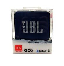JBL Go 2 Portable Bluetooth Waterproof Speaker Color Blue *GO2BLU
