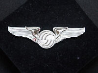 Airbus Logo WINGS SILVER Large Wing Pin for Pilot Crew as uniform accessory