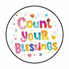 "48 Count Your Blessings Envelope Seals Labels Stickers 1.2"" Round"