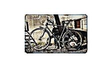 Cyclemaster Raleigh Motorbike Sign Metal Retro Aged Aluminium Bike