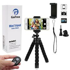 Mobile Phone Tripod GoFree GoPro Portable Camera Mount With Remote Shutter