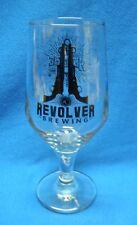 Revolver Brewing Anodyne Wheat Wine Stem Beer Glass Granbury Texas