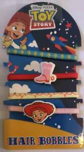 NEW Disney Pixar Toy Story 4 Pack Hair Bobbles Bands   Girls Hair Accessory