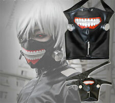 Halloween Masque Tokyo Ghoul Kaneki Ken Cosplay Mascarade Party Props Costume NF