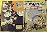 LES PRISONNIERS DU TEMPS par SERON N°13 une aventure des petits hommes 1982