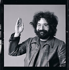 """JERRY GARCIA of The Grateful Dead, 31"""" X 31"""" Photograph by Baron Wolman, SIGNED"""