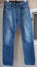 W.E. ARE. replay co. Men's Jeans Straight Leg, Distressed Wash Size 32 X 32