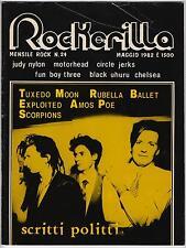 ROCKERILLA  # 24  scritti politti exploited rubella ballet depeche mode
