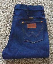 Vtg Dead Stock Wrangler Blue Jean Straight Leg IDEAL Zip Sz 34x30 Made in USA