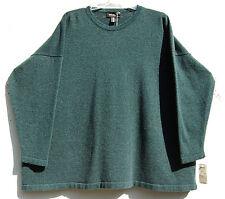 NWT Eskandar Bergdorf Goodman LAGANO Cashmere Round Neck Sweater O/S $1170
