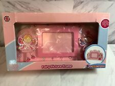 Vtg Fairy Picture Frame ,Pink Traditional wooden,Thetoyworkshop