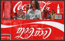 "Coca Cola Cardboard 12-Pack Can Case - 2008 ""mycokerewards.com"" Edition"