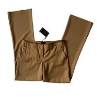 Massimo Dutti New Camel Brown Wool Trousers Bootcut Flared EU 40 UK 12