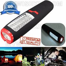 Flashlights Lamp Led Work Light Torch Magnetic Cob Inspection Camping Portb
