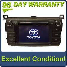 2013-2015 Toyota RAV4 OEM Factory SAT Radio Touch Screen MP3 CD PLAYER 100067