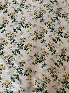 Rare Colefax & Fowler SURRENDEN Dated 1992 Fabric-5 Metre Piece Glazed New!!